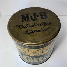Load image into Gallery viewer, MJB Coffee Tin - LARGE - side