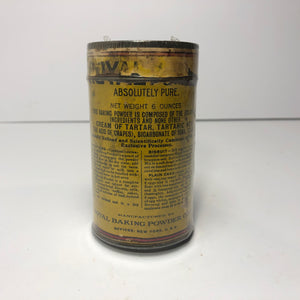 Vintage Royal Baking Powder Can