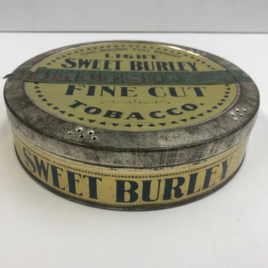 Vintage Light Sweet Burley Tobacco Tin