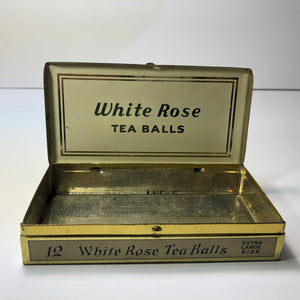 Wonderful White Rose Tea Tin