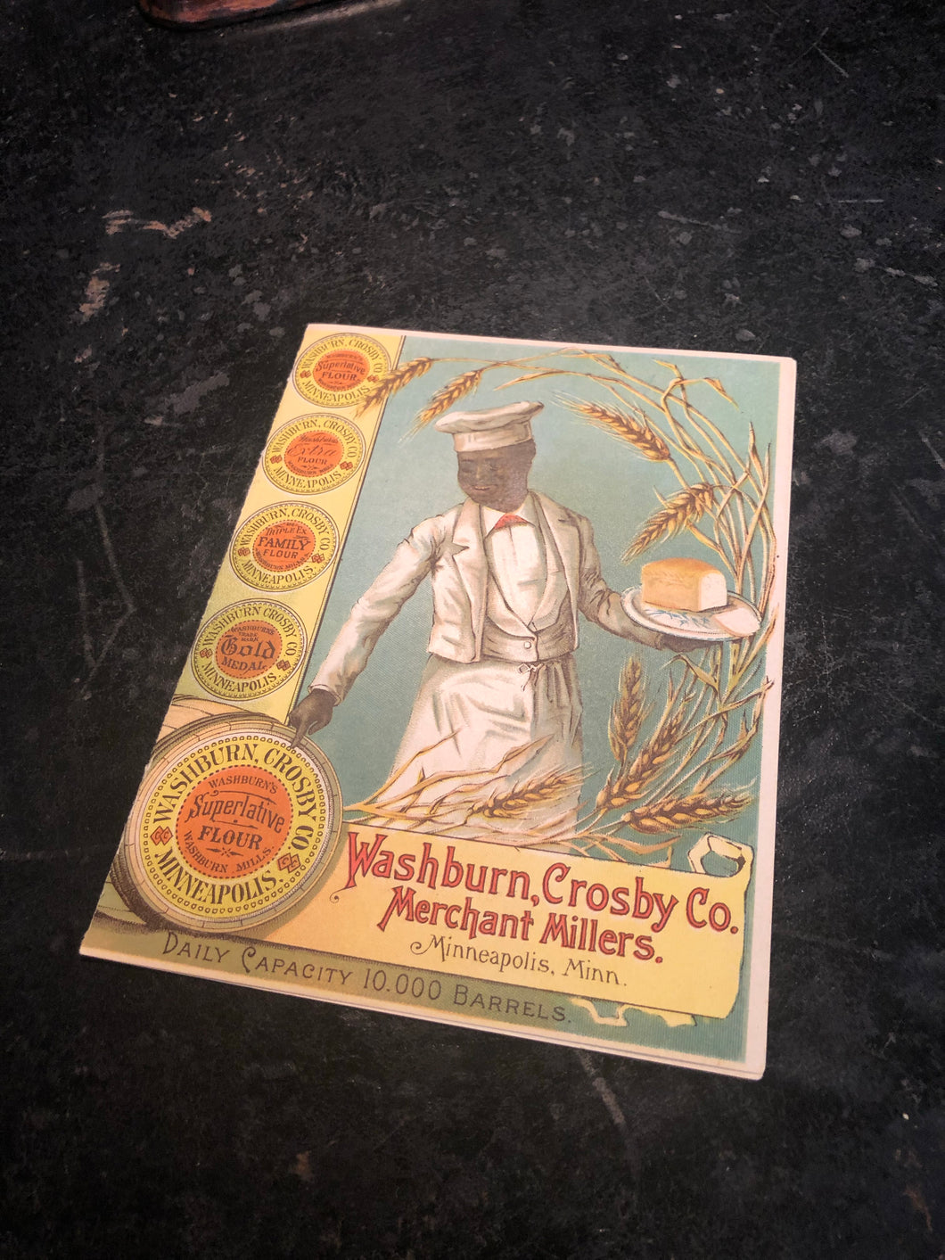 Vintage Washburn, Crosby Co. Flour Pamphlet, Amazing Condition