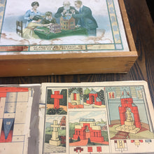 Load image into Gallery viewer, Union Building Blocks, Adult and Children Game, Block House, Old Vintage - TheBoxSF