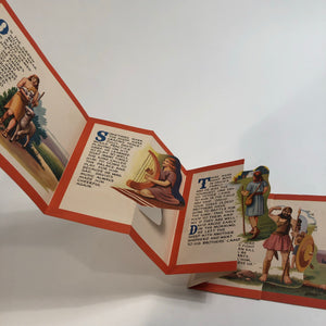 Sample fold-out pop-up image David and Goliath book