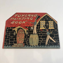Load image into Gallery viewer, TOYLAND VINTAGE PAINTING BOOK