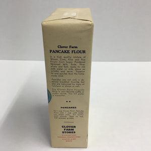 Old Clover Farm PANCAKE FLOUR Box, Self Rising, Muffins, Waffles