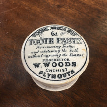 Load image into Gallery viewer, Woods Areca Nut TOOTH PASTE Container, Plymouth | Teeth & Gums - TheBoxSF
