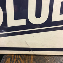 Load image into Gallery viewer, Old vintage GOLDEN's BLUE RIBBON Cigar sign, Tobacco - TheBoxSF