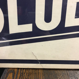 Old vintage GOLDEN's BLUE RIBBON Cigar sign, Tobacco - TheBoxSF