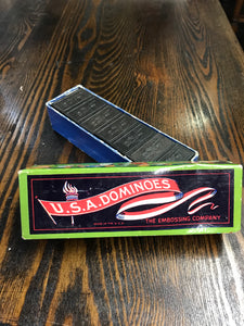 Vintage USA Dominoes Cardboard Box - TheBoxSF