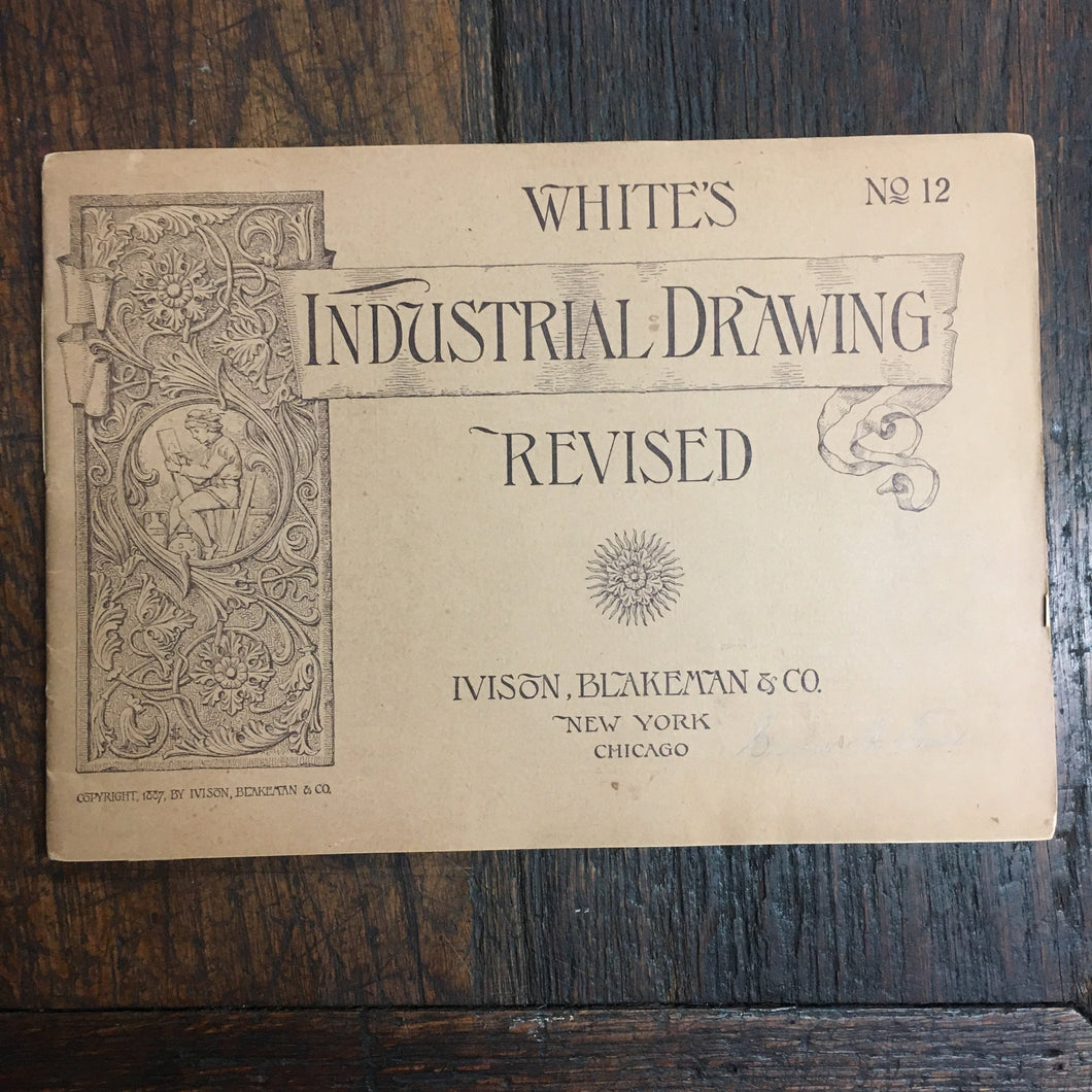 Vintage Old White's Industrial Drawing Revised, No. 12 - TheBoxSF