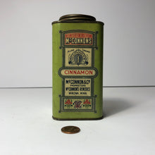 Load image into Gallery viewer, McConnon's Antique Cinnamon Tin Cannister