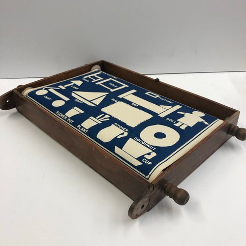 Vintage Mechanical Teaching Board