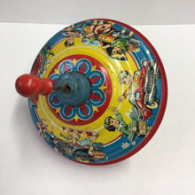 Load image into Gallery viewer, Vibrant Vintage Children's Spinning Toy