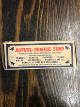 Load image into Gallery viewer, Vintage Anvil Pumice Soap Package with Soap - TheBoxSF