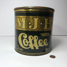 Load image into Gallery viewer, MJB Coffee Tin - LARGE