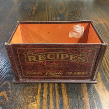 Load image into Gallery viewer, Old Purity RECIPES for DESSERT Tin, ice cream - TheBoxSF