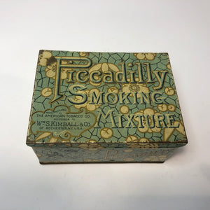 Piccadilly smoking mixture illustrated tin