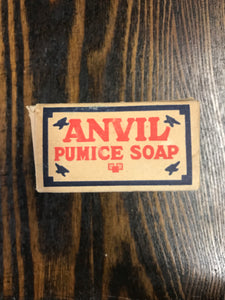 Vintage Anvil Pumice Soap Package with Soap - TheBoxSF