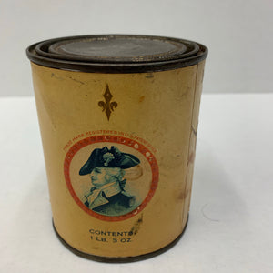 Old Edgett Burnham Brand SPINACH Tin, Packaging
