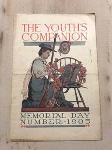 The Youth's Companion Memorial Day 1905 Large Paperback Book - TheBoxSF