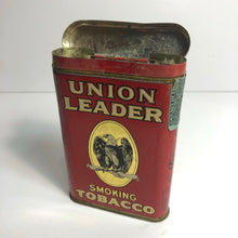Load image into Gallery viewer, Vintage Great Union Leader Tobacco Tin || EMPTY