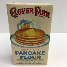 Load image into Gallery viewer, Old Clover Farm PANCAKE FLOUR Box, Self Rising, Muffins, Waffles