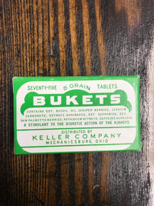 Vintage Bukets Pharmacy Pill Box - TheBoxSF