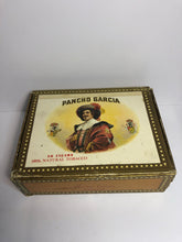 Load image into Gallery viewer, Vintage Pancho Garcia Tobacco Box