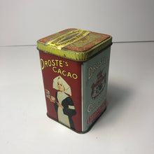 Load image into Gallery viewer, Amazing Antique DUTCH DROSTE'S COCOA/ CHOCOLATE TIN - Antique Packaging