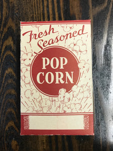 Vintage Red Pop Corn Box - TheBoxSF