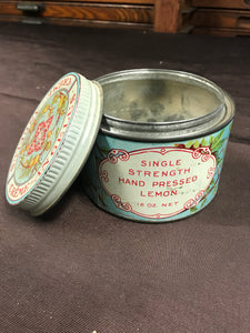 Beautiful Lemon Scented Créme Angelus Bleaching Cream Tin Packaging - TheBoxSF