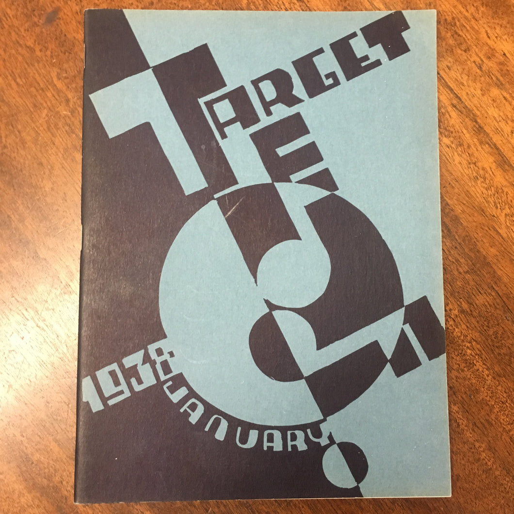 The TARGET Book January 1938 BERKLEY High School - TheBoxSF