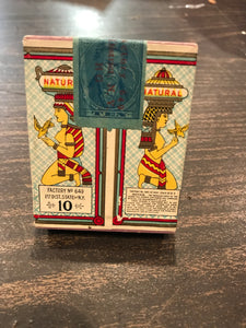 Vintage Schinasi Bros. Natural Egyptian Cigarete Box - TheBoxSF