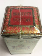 Load image into Gallery viewer, Old DROSTE'S Dutch Process COCOA Tin, Vintage Hot Chocolate, Haarlem