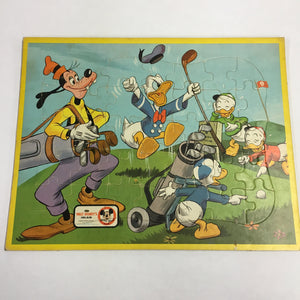 Old Walt DISNEY Puzzle, MICKEY MOUSE Clubhouse, No2