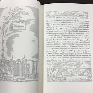 CANDIDE, Jean Francois Marie BOOK, ILLUSTRATED by Rockwell Kent - TheBoxSF