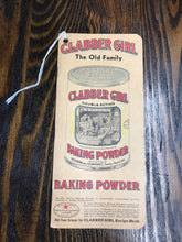 Load image into Gallery viewer, Vintage Clabber Girl Baking Powder Notebook - TheBoxSF