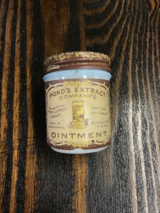 Beautiful Pond's Extract Company's Ointment Glass Bottle - TheBoxSF