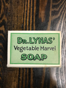 Vintage Dr. Lynas' Vegetable Marvel Soap Cardboard Packaging from early 1900's - TheBoxSF