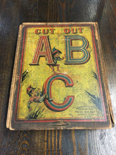 Load image into Gallery viewer, RARE Full ALPHABET, Cut Out ABC Game, Whitney Reed Chair Co. Old Vintage - TheBoxSF