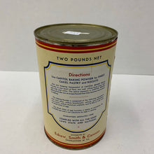 Load image into Gallery viewer, Old Capitol Brand Baking Powder Tin, Packaging