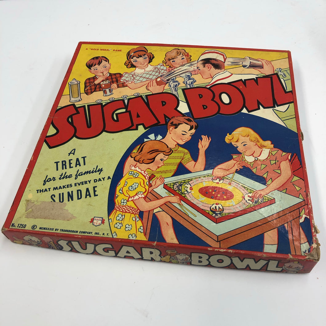Vintage Sugar Bowl Kids Toy Package