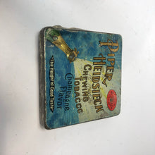 Load image into Gallery viewer, Vintage Piper Heidsieck Chewing Tobacco Tin