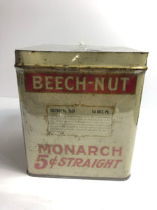 Beech-Nut cigar tin .5, from the back