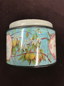 Beautiful Lemon Scented Créme Angelus Blesching Cream Tin Packaging - TheBoxSF
