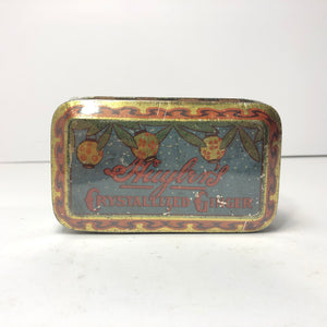 Vintage Huylr's Crystallized Ginger Can
