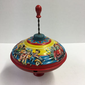Vibrant Vintage Children's Spinning Toy
