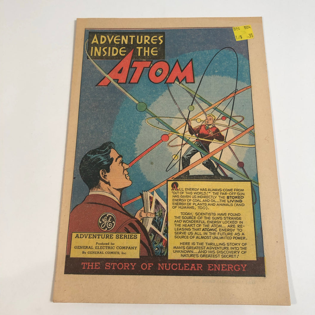 Inside the Atom produced by General Electric Comics