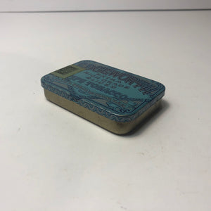 Blue Edgeworth Pipe Tobacco Tin Box --Other View