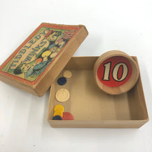 Load image into Gallery viewer, Vintage Tiddledy Winks Toy Box